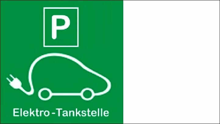 Etiketten Carini, E-Tankstelle