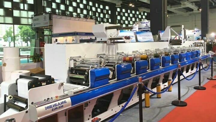 Weigang Machinery, D. Gansert Maschinenbau, Labelexpo Asia