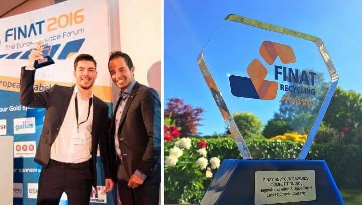 Finat, Recycling Award, Hagmaier Etiketten