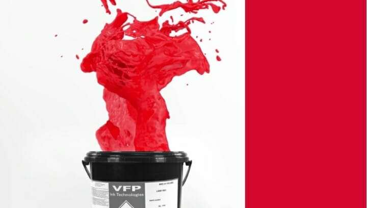 VFP Ink, Siebdruckfarben