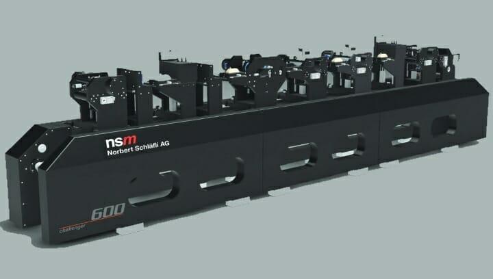 NSM, challenger 600, gedruckte Elektronik, funktionaler Druck