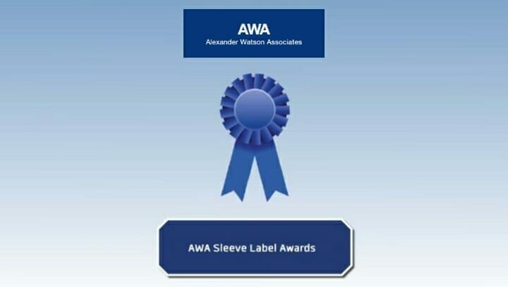 AWA Alexander Watson, Sleeve Label Awards