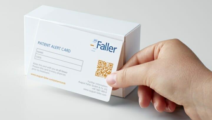 August Faller, Informationsträger
