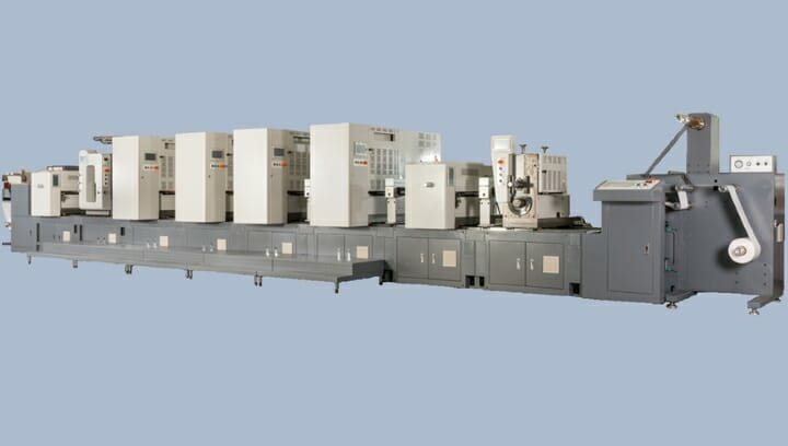 Grafische Systeme, Link Label, Offsetdruckmaschine