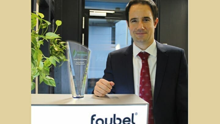 Faubel, Healthcare Award