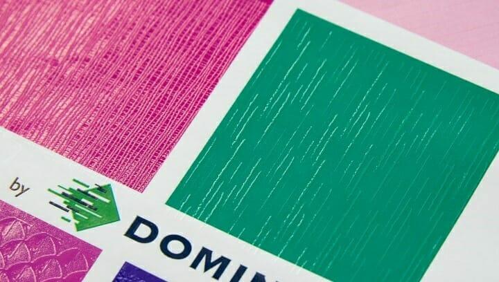 Domino, Textures, Inkjet