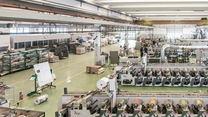 Omet, Neue Fabrik