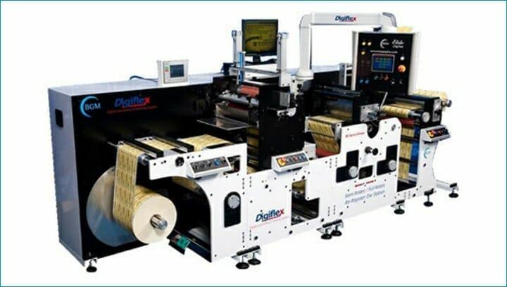 Bar Graphic Machinery, Grafische Systeme, Digiflex