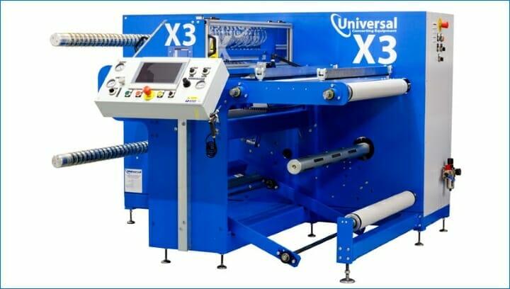 Universal Converting, X3, Rollenschneider