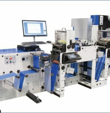 Focus Label Machinery, Labelexpo Europe