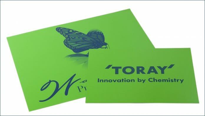 Toray Industries, wasserloser Offset, Labelexpo Europe
