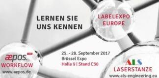 ALS Engineering, Lewald & Partner, aepos.label, Labelexpo Europe