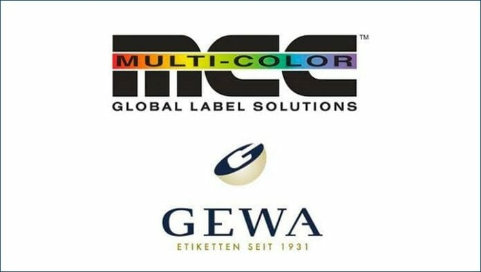 GEWA Etiketten, Multi-Color Corp.