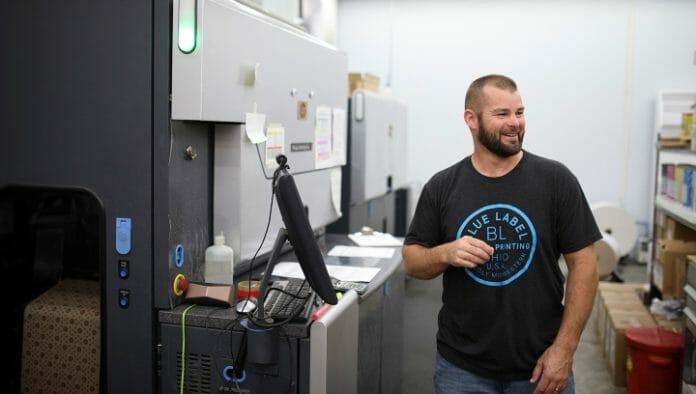 Blue Label Printing, Cerm, Esko, Automation Engine
