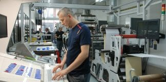 Helf Etiketten, Chromos GmbH, Omet, Bizerba,
