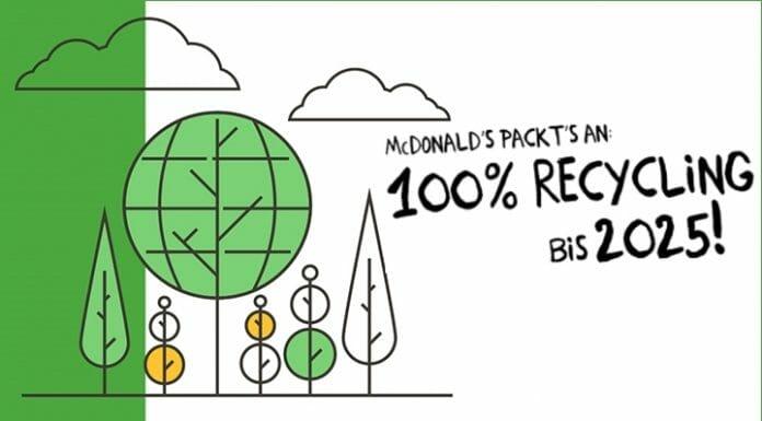 McDonald's, Recycling