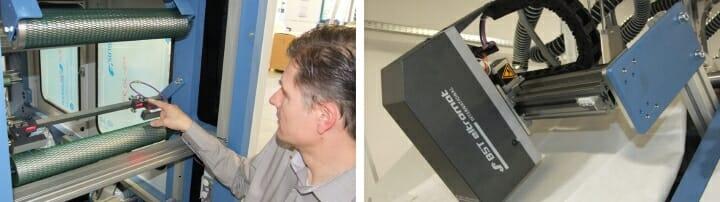 BST eltromat, SDF, Tissue-Druck