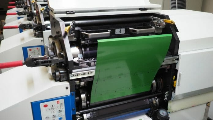 Verico Technology, 1.2.3 Etiketten, Zahara, Wasserloser Offset,
