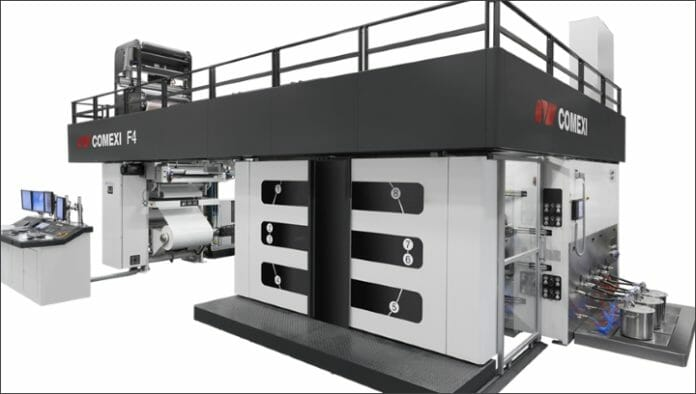Comexi, Flexodruck, Zentralzylinder-Flexodruck,