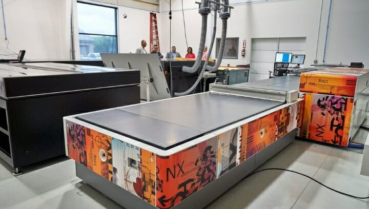 Flexodruck. Flexcel NX