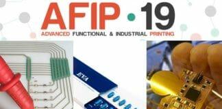 gedruckte Elektronik, AFIP, SMA