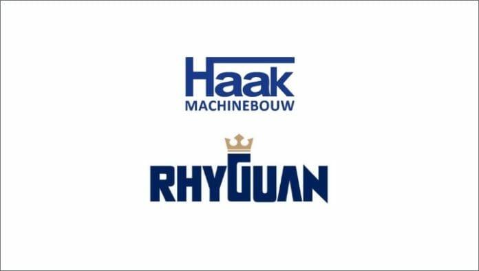 Haak Machinebouw, Rhyguan Machinery, Weiterverarbeitung,