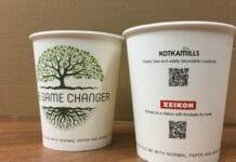 Xeikon, Xeikon Café, Kotkamills, Papierbecher,