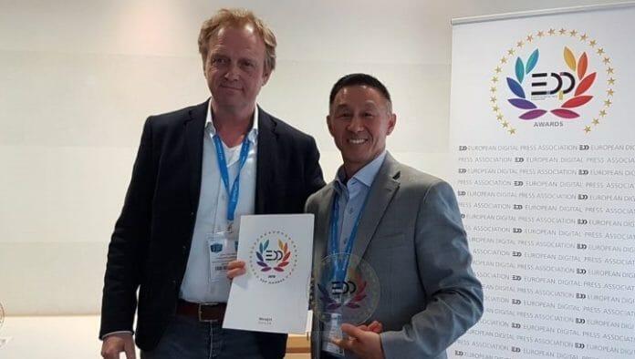 Memjet, EDP Awards, Inkjet-Druckkopf,