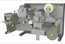 Grafisk Maskinfabrik, Laminiermaschine,