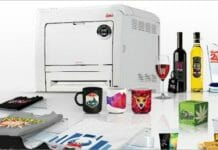 UniNet, Farbetikettendrucker,