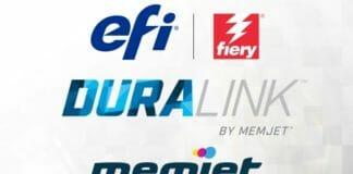 EFI, Memjet, DuraLink, Inkjet-Druckkopf,