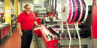 Etikettenfabrik Küchler, Verico Technology, Wasserloser Offset,
