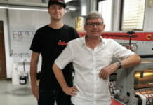 Jahn Etiketten, Nilpeter, Grafisk Maskinfabrik,