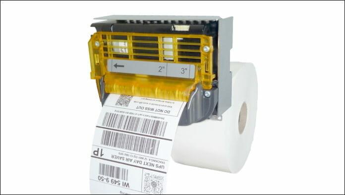 GeBe Elektronik, Linerless, Thermodruck,