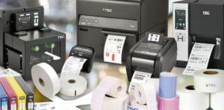 TSC Auto ID, Farbetikettendrucker, Barcodedrucker,
