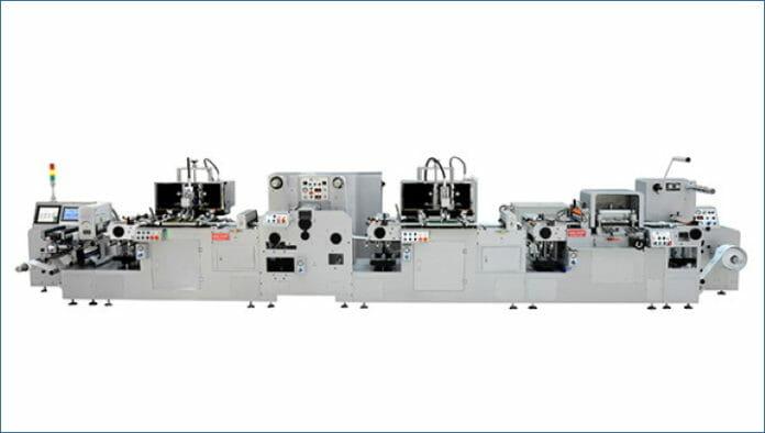 Label Source, Siebdruckmaschinen,