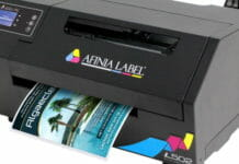 Afinia Label, Farbetikettendrucker,