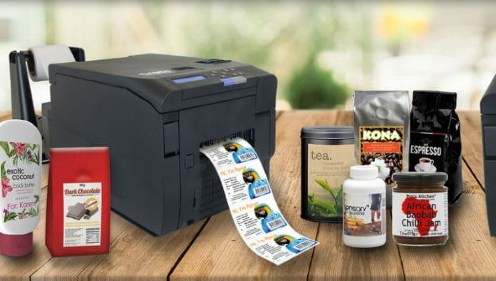 DTM Print, Farbetikettendrucker, Trockentoner,