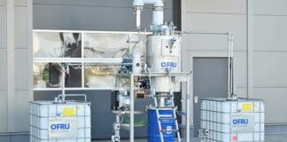 Ofru Recycling, Lösemittelrecycling,