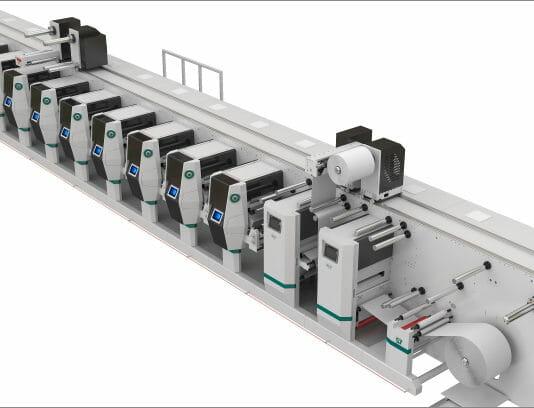 Spande, Flexodruckmaschinen,