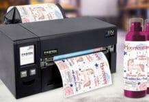 DTM Print, Farbetikettendrucker,