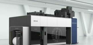 Koenig & Bauer, Zentralzylinder-Flexodruck,