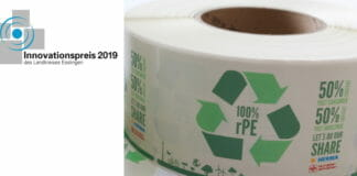 schäfer-etiketten, Etikettenmaterial, Recyclingmaterial,