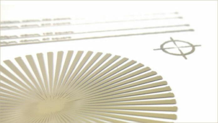 GSB-Wahl, gedruckte Elektronik,