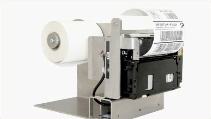 GeBE Elektronik, Thermodrucker, Linerless,