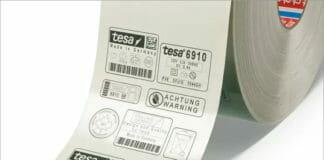 tesa, Laserkennzeichnung,