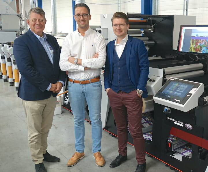 Flexprinter, Mark Andy, Packtion,