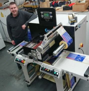 Kingfisher Labels, Bar Graphic Machinery,
