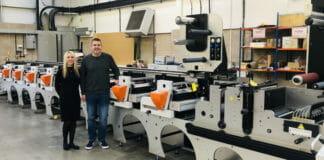 Edale, Kingfisher Labels, Flexodruckmaschinen,