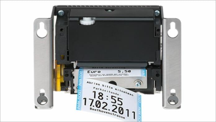 GeBE Elektronik, Linerless, Thermodrucker,